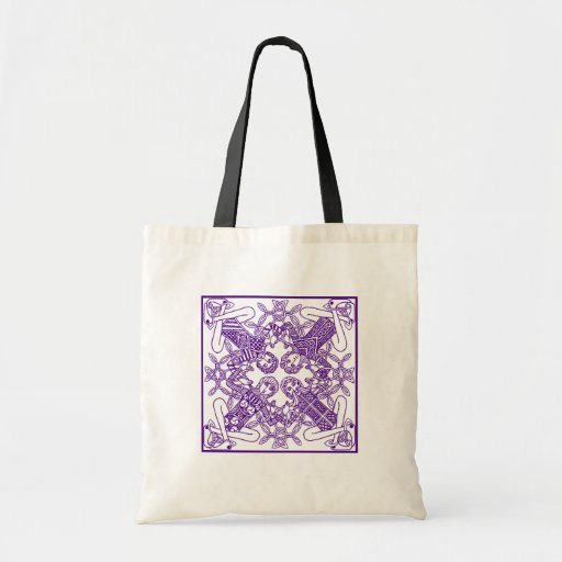 Intricate Celtic Knot Interconnected Symbolism Tote Bag