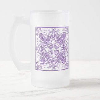 Intricate Celtic Knot Interconnected Symbolism Mugs