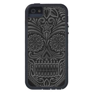 Intricate Dark Sugar Skull iPhone 5 Case