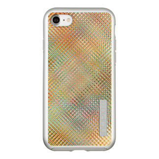 Intricate Gold Yellow Pink Red Green Pattern Incipio DualPro Shine iPhone 8/7 Case