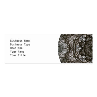 Intricate pattern. Decorative design. Pack Of Skinny Business Cards