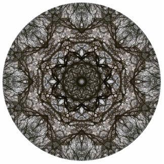 Intricate pattern. Decorative design. Photo Sculpture Decoration