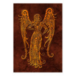 Intrictate Stone Virgo Symbol Pack Of Chubby Business Cards