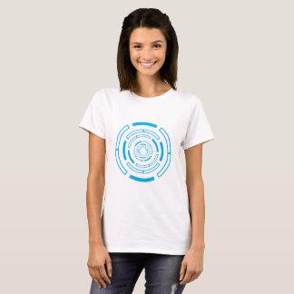 Intriguing blue circle T-Shirt