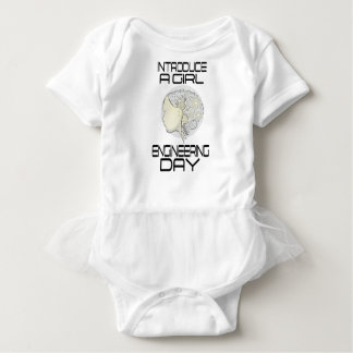 Introduce A Girl To Engineering Day 16th February Baby Bodysuit