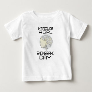 Introduce A Girl To Engineering Day 16th February Baby T-Shirt