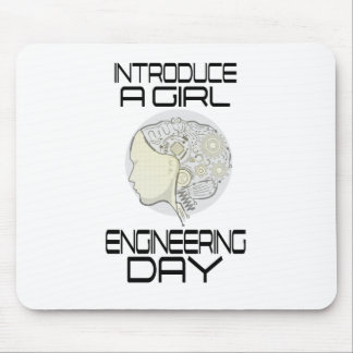 Introduce A Girl To Engineering Day 16th February Mouse Pad