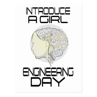Introduce A Girl To Engineering Day 16th February Postcard