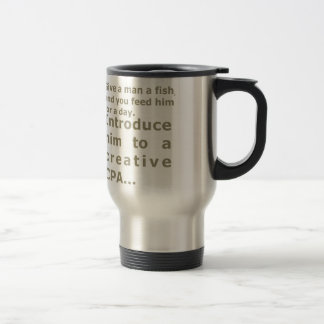 Introduce him to a creative CPA Travel Mug