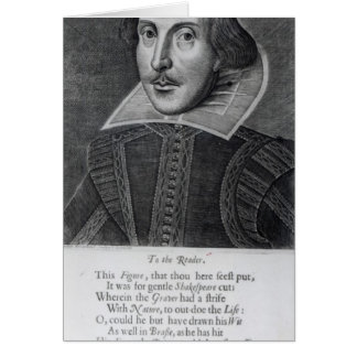 Introduction, 'Mr. William Shakespeares Greeting Card