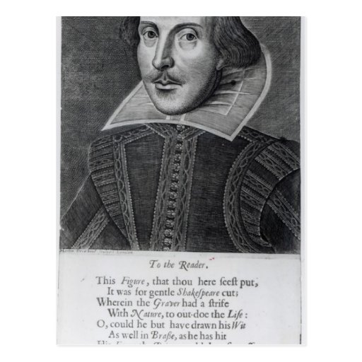 Introduction, 'Mr. William Shakespeares Post Card