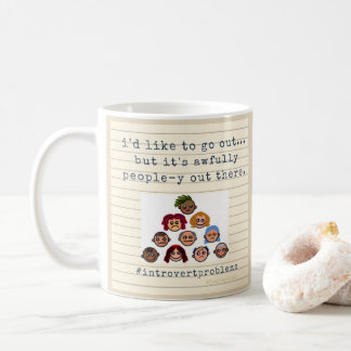 Introvert Themed Mug - #introvertproblems product