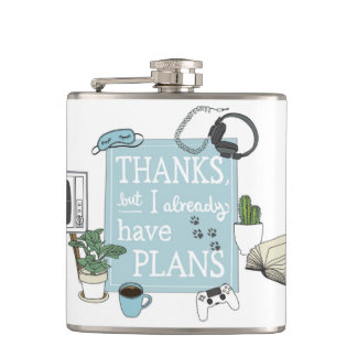 Introvert's Plans Flask