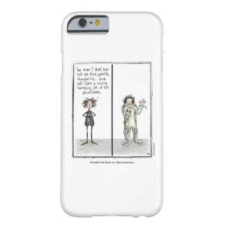 INTUITION cartoon by Ellen Elliott Barely There iPhone 6 Case