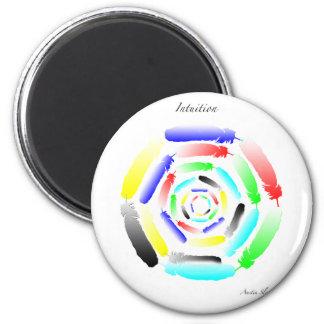 Intuition Mandala Fridge Magnet
