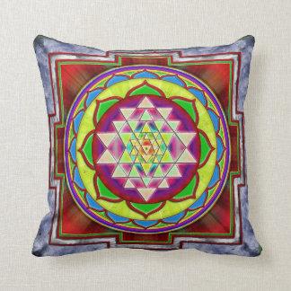 Intuition Sri Yantra I Cushion