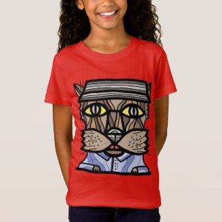 """Intuitive"" Girls' Fine Jersey T-Shirt"