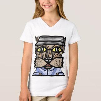"""Intuitive"" Girls' V-Neck T-Shirt"
