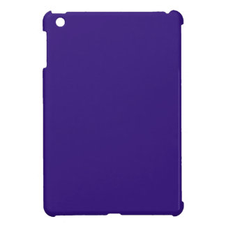 Intuitively Idealistic Blue Color iPad Mini Covers