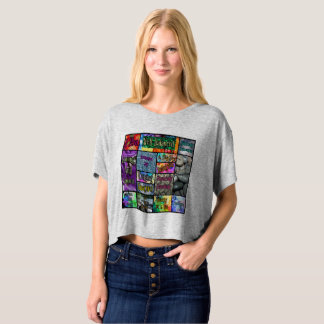 Intuitively Yours Crop Top T- shirt