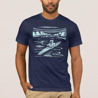 Inuit kayak graphic design T-Shirt