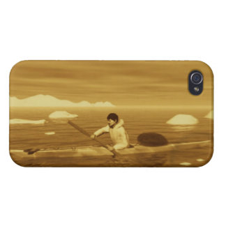 Inuit Kayak iPhone 4/4S Covers