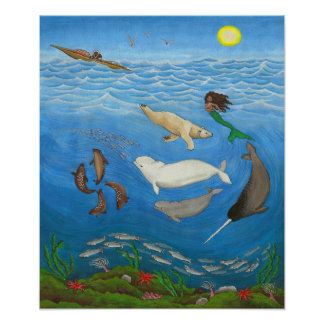 Inuit Myth Painting Posters & Prints