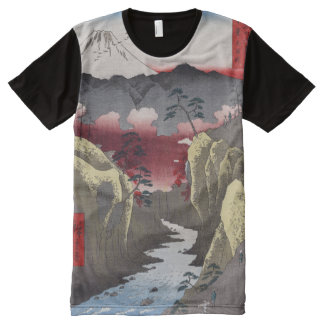 Inume Pass in Kai Province. All-Over Print T-Shirt