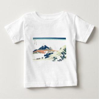 Inume Pass in Kai Province - Katsushika Hokusai Baby T-Shirt