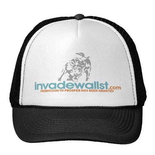 Invade Wall St. Trucker Hats