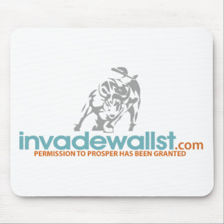 Invade Wall St. Mouse Pad