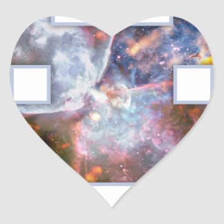 Invader Heart Sticker