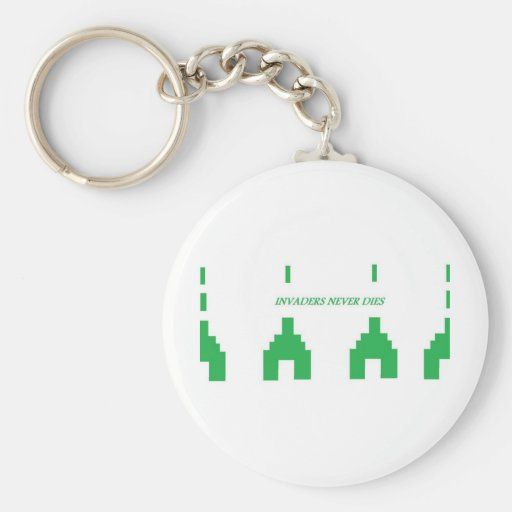 Invaders Keychain