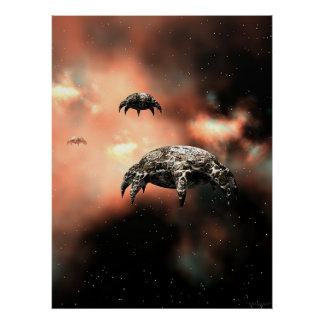 Invaders Poster