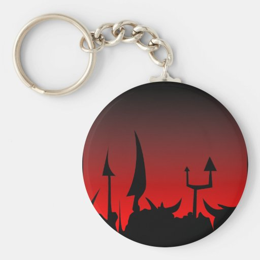 Invading Army Key Chains