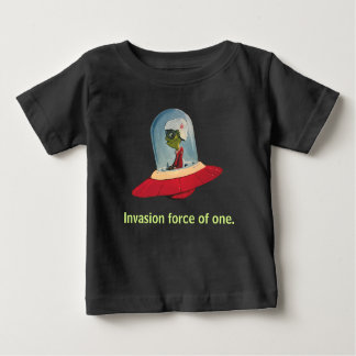 INVASION FORCE UFO black by Jetpackcorps Baby T-Shirt