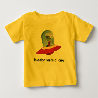INVASION FORCE UFO by Jetpackcorps Baby T-Shirt