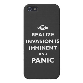 Invasion is Imminent iPhone 5 Covers