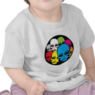Invasion of Rainbow Aliens Shirts