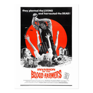 INVASION OF THE BLOOD FARMERS POSTCARD