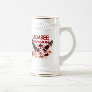 Invasion Of The Zombees Coffee Mug