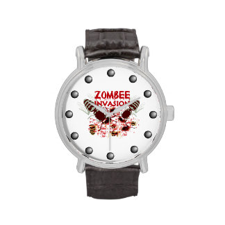 Invasion Of The Zombees Wrist Watch