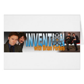 Invention with Brian Forbes Logo Card