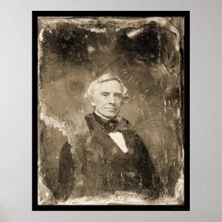 Inventor Samuel Morse Daguerreotype 1854 Poster
