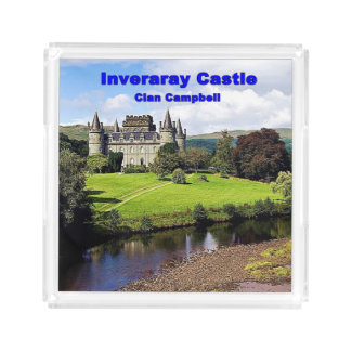 Inveraray Castle - Clan Campbell Acrylic Tray