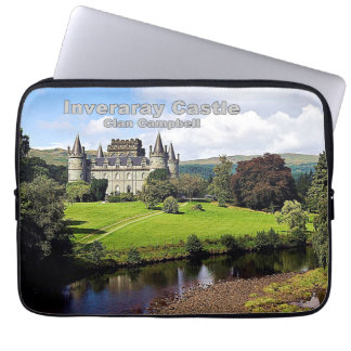 Inveraray Castle - Clan Campbell Laptop Sleeves