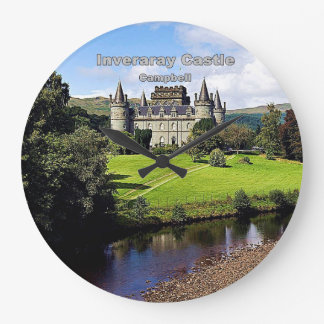 Inveraray Castle - Clan Campbell Large Clock