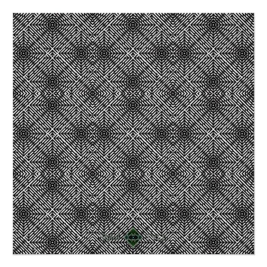 Invert Flux Illusion Poster