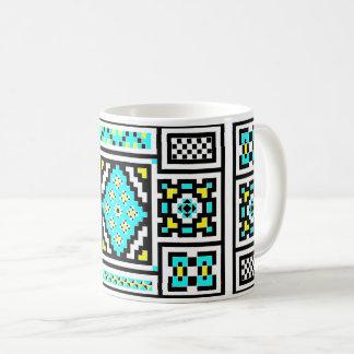 Invert Mirrored Mosaic Coffee Mug