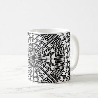 Invert Reflect Mandala Coffee Mug